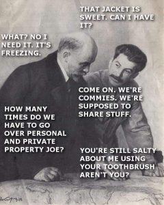 Private Propety Vs Personal Property Meme