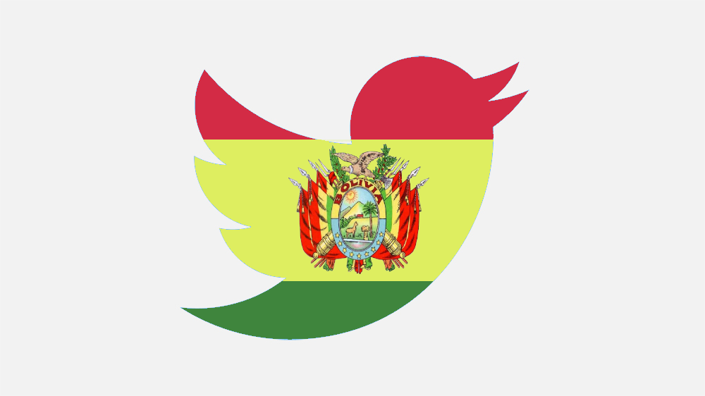 Coup in Bolivia by United States Government and fake Twitter Accounts denying the coup happened.